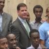 Afurintii Jaaliayada Islaamka ee duqa Magaalada Boston Mayor Martin Walsh