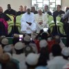 Pope Francis visits besieged mosque in Central African Republic