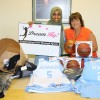 Dream Big provided uniforms for the Somalia Women's National Basketball Team (Daawo)