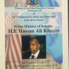 Somali Prime Minister, His Excellence Hassan Ali Khaire will meet Somali Community Diaspora in the United States of America