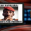 "A Window of History: Sankara rejected the idea of foreign aid, saying that ""he who feeds you, controls you."""